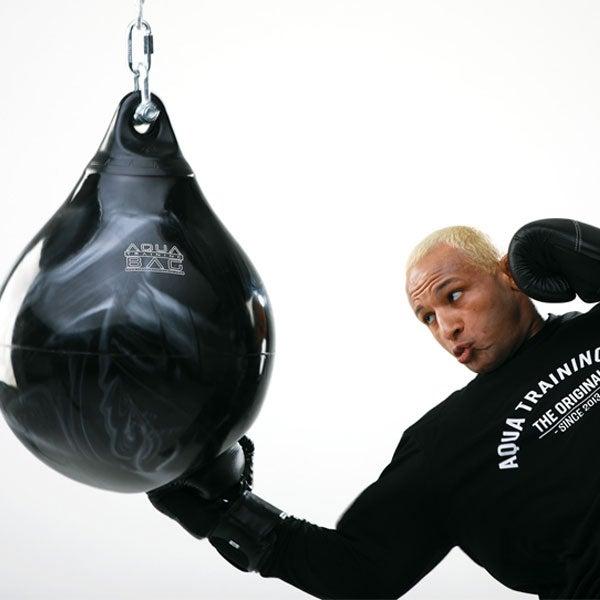 "Power Punch Pink Aqua Punching Bag 21/"""