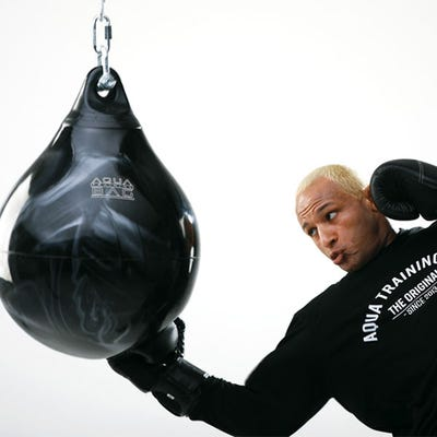 "18"" 120 lb. Aqua Punching Bag"