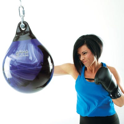 "15"" 75 lb. Aqua Punching Bag"