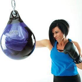 "Aqua Punching Bag Training bag Water Punch bag Boxing Hook and Jab 15/"" Energy"